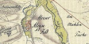 1781 Kurhannoversche Landesaufnahme Amt Meinersen_Alvesse