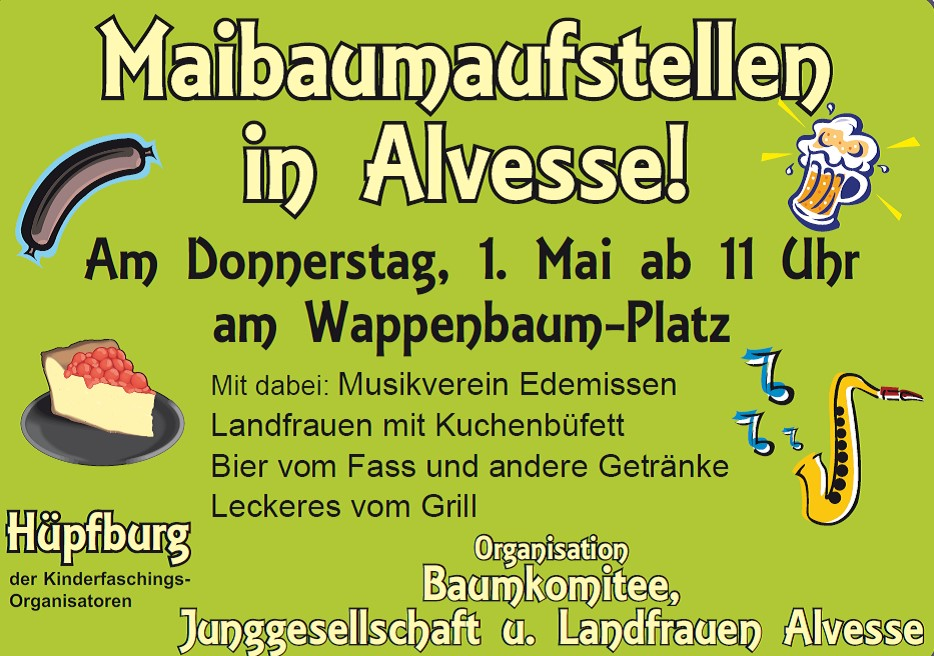 Maibaumfest in Alvesse