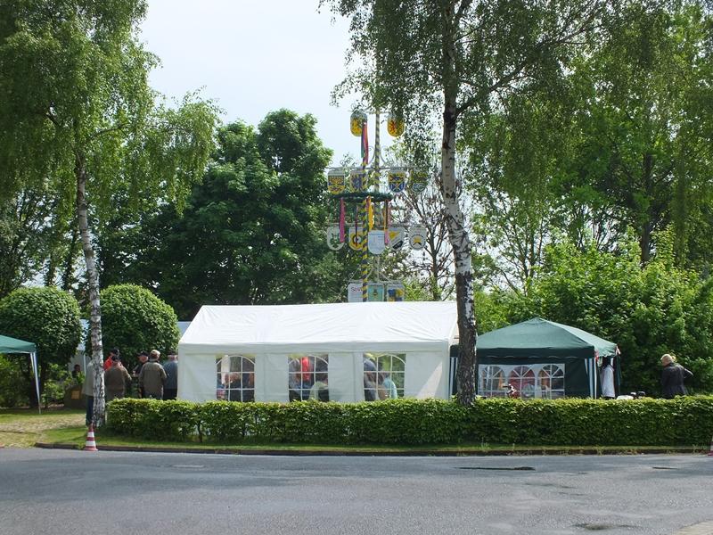 Maibaumfest am Alvesser Wappenbaum 2014