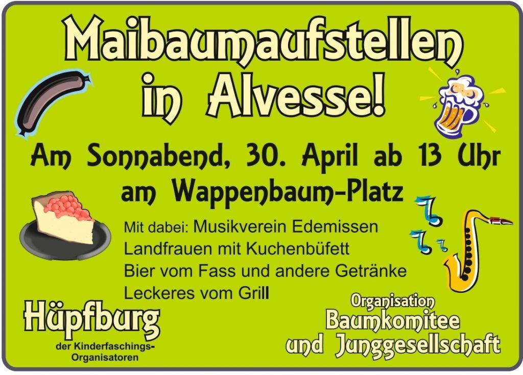 Einladung Maibaumfest