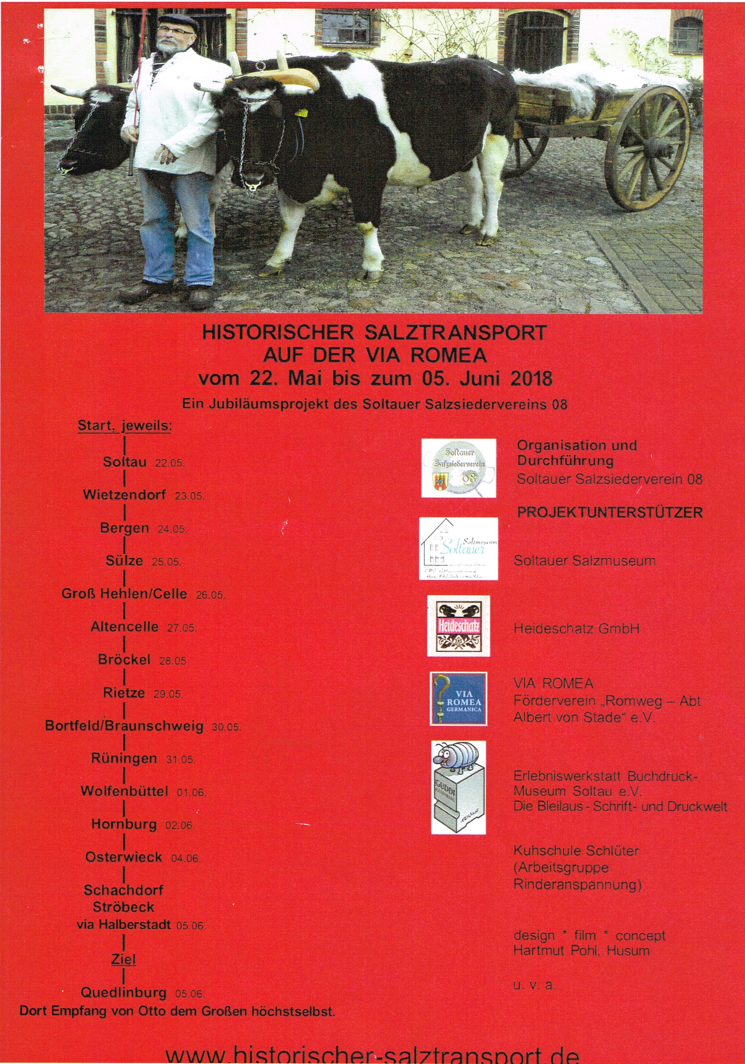 Rietze, Salztransport auf der Via Romea - Alvesse - Das Dorf mit dem ...